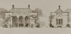 State Of Grace, Pool Houses, Taj Mahal, Art Drawings, Sketches, Architecture, Building, Presentation, Diagram