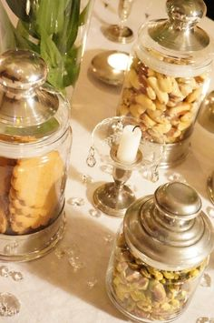 Tinapurkit - pewter jars