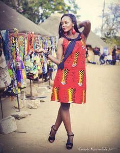 Kamanga wear a zambian fashion label