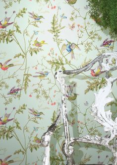 Wallcovering from, A Collection of Flowers, Cole & Son, Goodrich