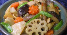 レシピ本・クックパッドカレンダー掲載・900れぽ・感謝♡ごま油で炒めて煮るだけ簡単!!お節、お食い初め、普段の煮物にも♡