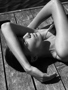 Daria Werbowy by Mikael Jansson for Interview September 2014 | The Fashionography