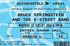 #Ticket  Bruce Springsteen Paris 13.7. Juli Juillet 2016 2 Tickets Billets Cat1 Gradin U #Ostereich
