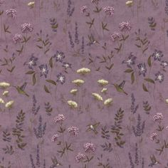 The Potting Shed Phlox 6623 15 from Moda Fabrics and Holly Taylor Muted Colors, Green And Brown, Make Your Own, Quilt Patterns, Lavender, Shed, Birds, Quilts, Purple
