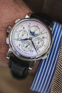 Explore the Rolex assortment of respected, high-precision wrist watches, find the excellent combination of trend and usefulness. Dream Watches, Fine Watches, Cool Watches, Watches For Men, Wrist Watches, Armani Watches, Luxury Watches, Breitling, Rolex