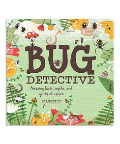 Look what I found on #zulily! Bug Detective Hardcover #zulilyfinds