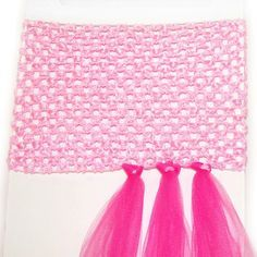 This is for a tutu dress - but could use a headband to make a layered one. Genius.