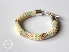 kreatywna karuzela - Anna Perek-Sobierajska, wzory sznurów szydełkowo-koralikowych