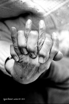 """Photography Collection 2009-2012 by Aycan Basar,,,,,,,,,,,,,,,,,,,,,,,,,,,,,,,,,,,,,,,,,,,,,,,,,,,,,,,,,,,,,,,,,,,,,,,,, Grandmom vs Granddad  """"As if he never stops holding her hand"""""""