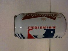Limited Edition Budweiser 2012 beer Can. MLB.