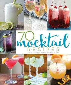 70 Non-Alcohol Mocktail Recipes