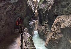 Escursione in Baviera alla gola di Partnachklamm