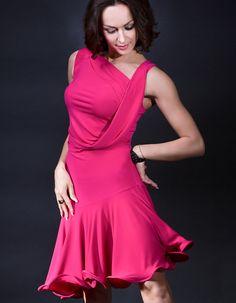 Santoria Kardia Latin Dance Dress DR7056 | Dancesport Fashion