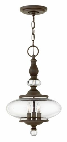Hinkley Lighting - WEXLEY 4323OZ.  intersection