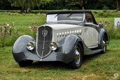 Peugeot 401 à Chantilly Arts et Elegance #MoteuràSouvenirs Reportage…