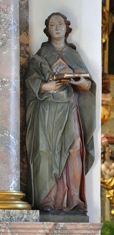 Category:Statues of Agatha of Sicily Agatha, Saint Quotes, Patron Saints, Sicily, Mystic, Catholic, Medieval, Religion, Statue