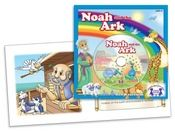 Noah and the Ark Read & Sing Along  Celebrate Noah's obedience and God's faithfulness! The Music CD includes the recorded story and 12 more Bible songs!  $4.99