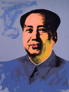 Andy Warhol (American, 1928-1987)    Mao, 1972    acrylic and silkscreen ink on linen    82 x 61 in. (208.3 x 154.9 cm.)    The Andy Warhol Museum, Pittsburgh; Founding Collection, Contribution Dia Center for the Arts    ©The Andy Warhol Foundation for the Visual Arts, Inc.    1997.1.21