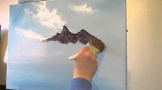 oil painting with bob ross - YouTube