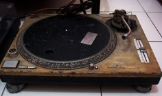 The Miracle Technics 1200s Turntables As we all know: Technics turntables die really hard.  When they arrived at his garage, they looked like they were jammed at a coral reef for several decades. It would take a miracle to bring them back to life. Angelo titled them as the most challenging decks he has ever done. Take a look at how these turntables came back to life with a wonderful glossy white body and new parts. You'll never imagine again how these looked like in the past.