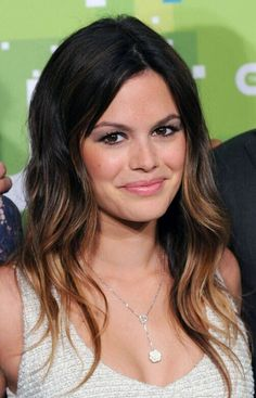 Black to Brown Ombre Hair: Long Hairstyles