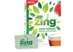 Try ZingZero Calorie Stevia Sweetener for FREE!