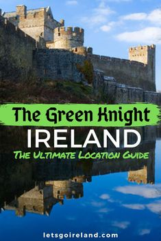 If you want to find out about The Green Knight filming locations in Ireland, look for The Green Knight things to do in Ireland, or just want to know more about the various Ireland Green Knight connections, then this guide is for you!
