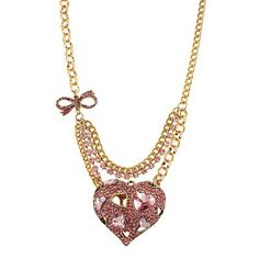 Iconic Pinkalious Heart Pendant. #necklace #jewelry  9thelm.com