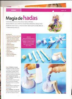 mis cositas!!: PORCELANA FRIA: HADAS Y DUENDES.(PASO A PASO) Arte Post It, Miniature Crafts, Clay Tutorials, Polymer Clay, Miniatures, Fondant, Google, Ideas, Cold