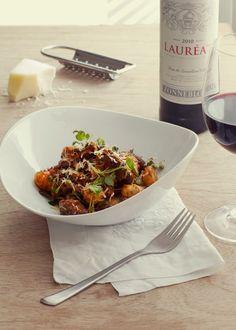 Cabernet Sauvignon & Merlot beef shin gnocchi