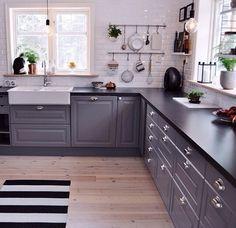 So beautiful grey kitchen