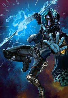 JakeMyler (@lazesummerstone)   Twitter Destiny Warlock, Destiny Bungie, Destiny Comic, Destiny Game, Undertale Oc, Ghost Recon, Destiny Hunter, Cool Robots, Sci Fi Characters