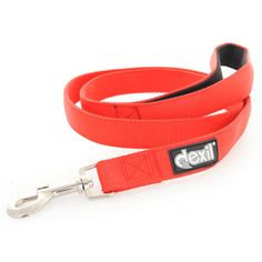 Dexil FLASH RED Dog Lead/Leash | 120cm (4ft) and 180cm (6ft)