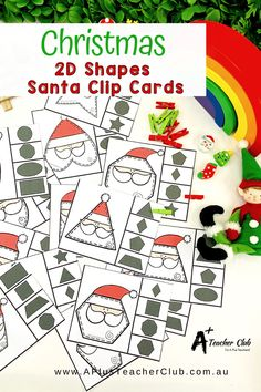 Our Christmas Math Printables For Kids are so much fun for the Holiday Season! From Cheeky Elves, Reindeer, Snowmen, Trees, Presents, Gingerbread sweet treats, and Santa himself. Your Kids will love learning with these thematic printables for math and literacy for an Jolly Holly Day this December. Christmas Math, Christmas Activities, Classroom Activities, Christmas Printables, Fine Motor Activities For Kids, Hands On Activities, Teaching Plan, Teaching Resources, Learning Fractions