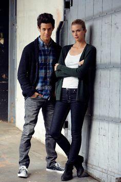 Kyle Harris as (Cameron) & Emma Ishta as (Kirsten) #Stitchers