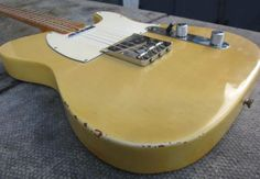 1967 Fender® Telecaster® (US $9.150) This is a supremely cool '67 maple cap Tele® in blonde. Extremely good playing and looking Tele®. This guitar is just 'right'. So rare to see these Tele's from this period now...