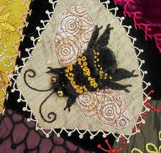 Applique Bee from Crazy Quilt | by Robyne Melia is Bobby La
