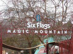 Six Flags Magic Mountain, CA