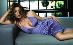 Glamorous Magazine Girls Sexy Purple