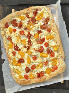 Csak a Puffin Hawaiian Pizza, Pepperoni, I Foods, Tart, Feta, Bacon, Pie, Tarts, Torte