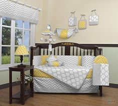 Looking for GEENNY Boutique Baby 13 Piece Crib Bedding Set, Yellow/Gray Chevron ? Check out our picks for the GEENNY Boutique Baby 13 Piece Crib Bedding Set, Yellow/Gray Chevron from the popular stores - all in one. Yellow Bedding Sets, Baby Crib Bedding Sets, Baby Cribs, Baby Nursery Furniture Sets, Baby Nursery Bedding, Nursery Ideas, Nursery Room, Chevron Bedding, Girl Nursery
