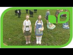 Interview mit Monika Moosmann über die Gartenfiguren von German de Juana - YouTube