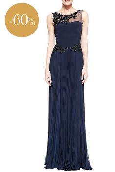party dress, marchesa, marchesa notte, notte by marchesa, private sales, sales, soldes, luxe, luxury dress