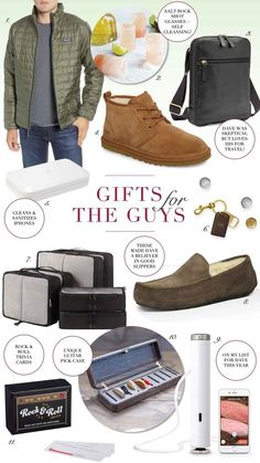 The Best Christmas Gifts for Guys -- from Your Husband and Boyfriend to Son I have rounded up the best men's gift ideas for you! Christmas Gifts For Boyfriend, Christmas Gift Guide, Best Christmas Gifts, Boyfriend Gifts, Christmas Fun, Christmas Design, Best Gifts For Him, Gifts For Husband, Guitar Picks Personalized