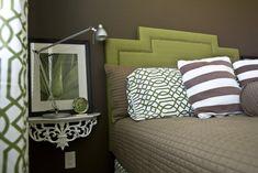 mounted shelf for bedside table