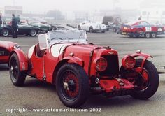 1934 - 1935 Aston Martin Ulster   (Third Series 1½ litre 2 and 2/4 seater) This is fabulously original customer Ulster. It has a wonderfully rich racing history fully detailed in the AMOC register.