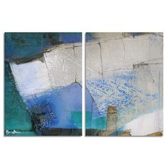 Shop for Ready2HangArt 'Bueno Exchange XXIX' Canvas Diptych Art Print. Get free delivery at Overstock.com - Your Online Art Gallery Store! Get 5% in rewards with Club O!