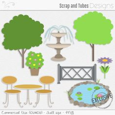 🍃 GARDEN TEMPLATES by Scrap and Tubes Designs 🍃 Full size digital templates (300dpi) • 8 psd & 8 psp • CU4CU 🍃 Exclusive to Scrap and Tubes Store > http://bit.ly/1Sf6GnC