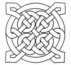 free printable celtic knot patterns