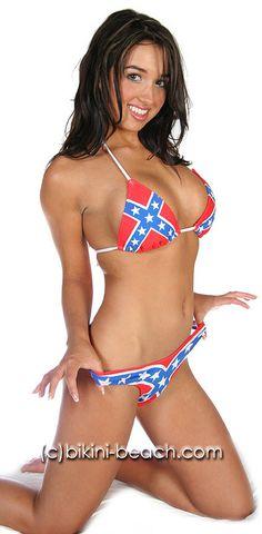 Confederate Flag Girl
